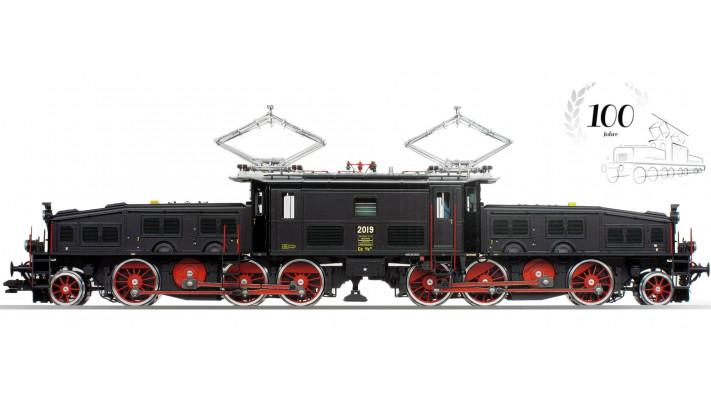 Elektrolokomotive Ce 6/8 III, noire