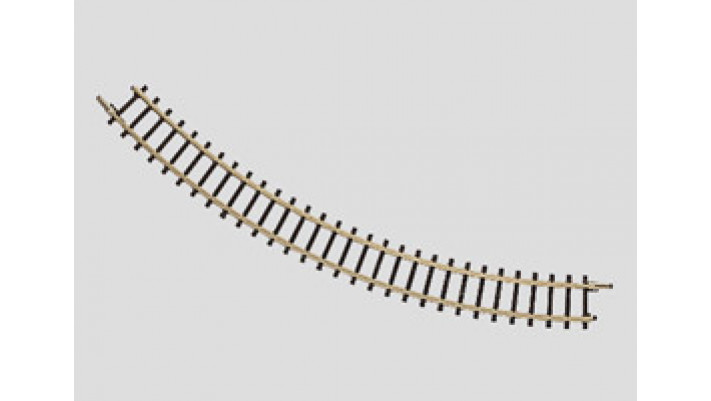 Rail courbe  r145 mm, 45 Gr.