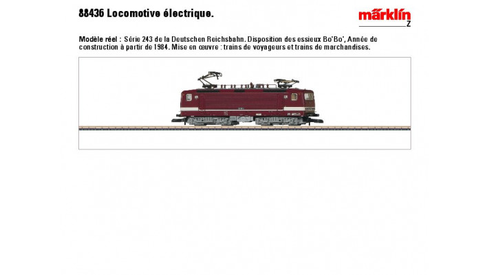 E-Lok BR 243 DR