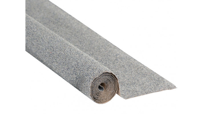 Tapis éboulis, gris, 120 x 60 cm