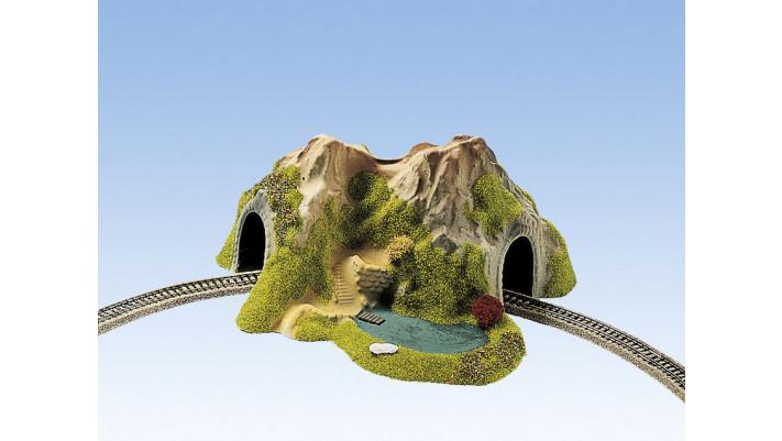 Tunnel avec Lac