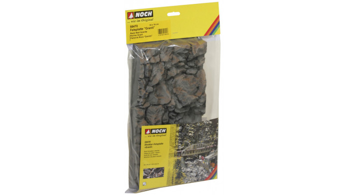 Plaque de rochers  Granit