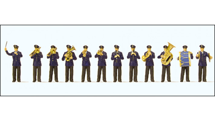 orchestre, 12 figurines
