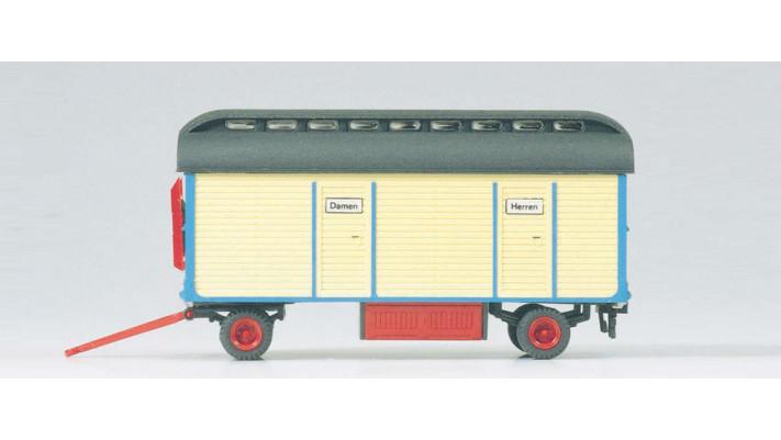 modèle monté wagon