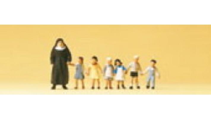 religieuse, enfants