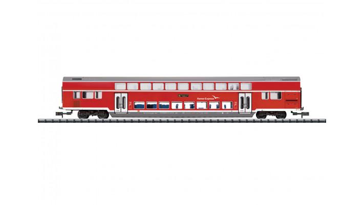 Voiture à deux niveaux Hanse-Express -  DB AG  -  époque : VI