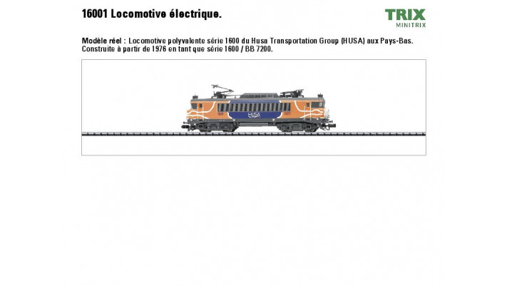 E-Lok Serie 1600 HUSA