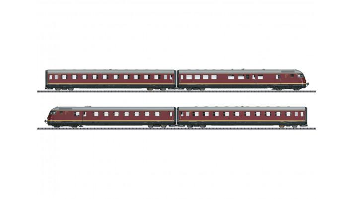 Train automoteur TEE diesel VT 08.5 Paris-Ruhr -  DB