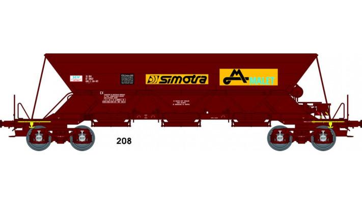 "Wagon TREMIE EX T1 Ep.V  N° 33 87 690 2 1340 ""SIMOTRA MALET"""