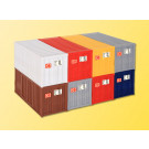 H0 20-Fuss-Container, 8 Stuec