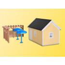 H0 Gartenhaus zur Laubenkolon