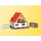 H0 Einfamilienhaus mit Terras