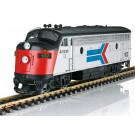 Locomotive diesel Amtrak F7A