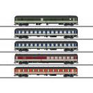 Schnellzugwagen-Set Pop-Farbe - H2019