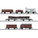 Güterwagenset zur BR 95, DRG, Ep. II