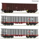 3-tlg. Set: Offene Güterwagen, ÖBB
