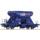 Schotterw. Railpro, blau