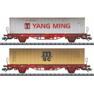 Containerwagen-Set Lgs, DB AG, Ep. VI - automne20