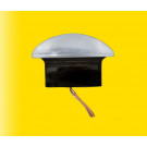 H0 Deckenlampe, LED weiss