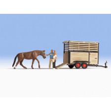Transport de cheval