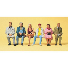 voyageurs assis