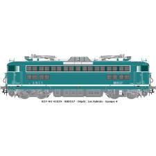 SNCF  BB 8521 VERTE BANDE BLANCHE EpIV sound