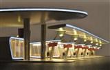 H0 Moderner Busbahnhof Halle