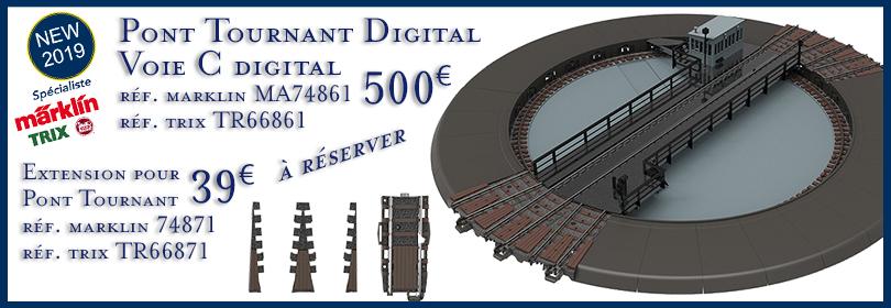 Pont Tournant Voie C Digital et compléments